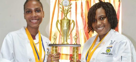 Image of Karina Abraham and Cheyenne Hippolyte