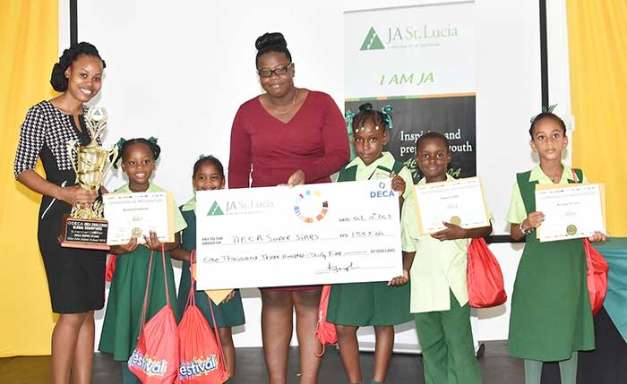 Image: DECA Idea Challenge winner Gros Islet Primary School